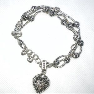 Brighton Reno Heart Bracelet
